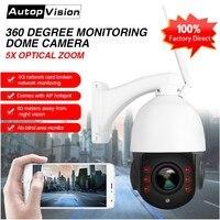 LS Q4 WIFI 3G 4G High Speed Dome Camera 5X ZOOM Lens 1080p 960P Wireless Wifi