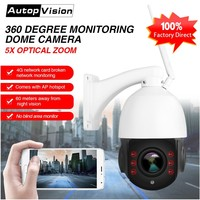 LS Q4 WIFI 3G 4G High Speed Dome Camera 5X ZOOM Lens 1080p 960P Wireless Wifi