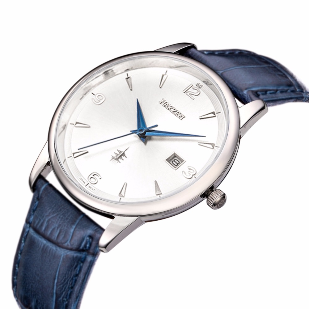 NAKSEN Classic Armbandsur Märke Luxury Quartz Män Klockor - Herrklockor - Foto 3