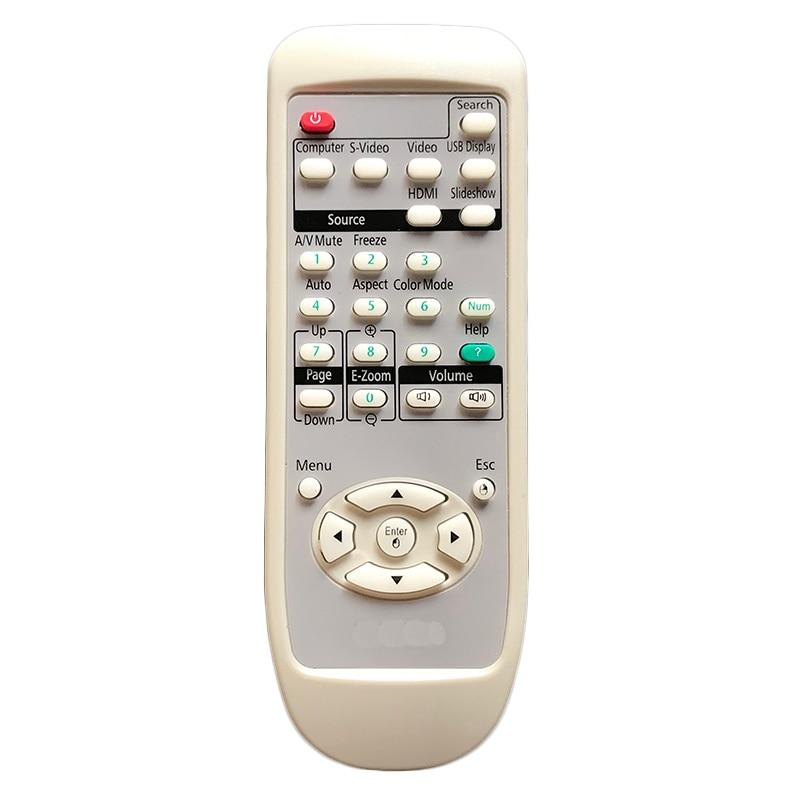 Remote Control For EPSON Projector EB-1950 EX70 EMP-X52 H556B EB-1945W  EB-1940W EX30 EX50 H555C H550A H551A H552A H552F