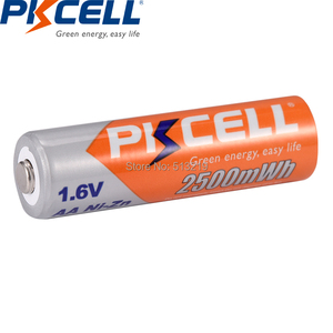 Image 5 - 10個pkcellバッテリーaa ni zn系aa充電式バッテリー1.6v 2500mWh bateria充電式batteriesforおもちゃカメラ電池