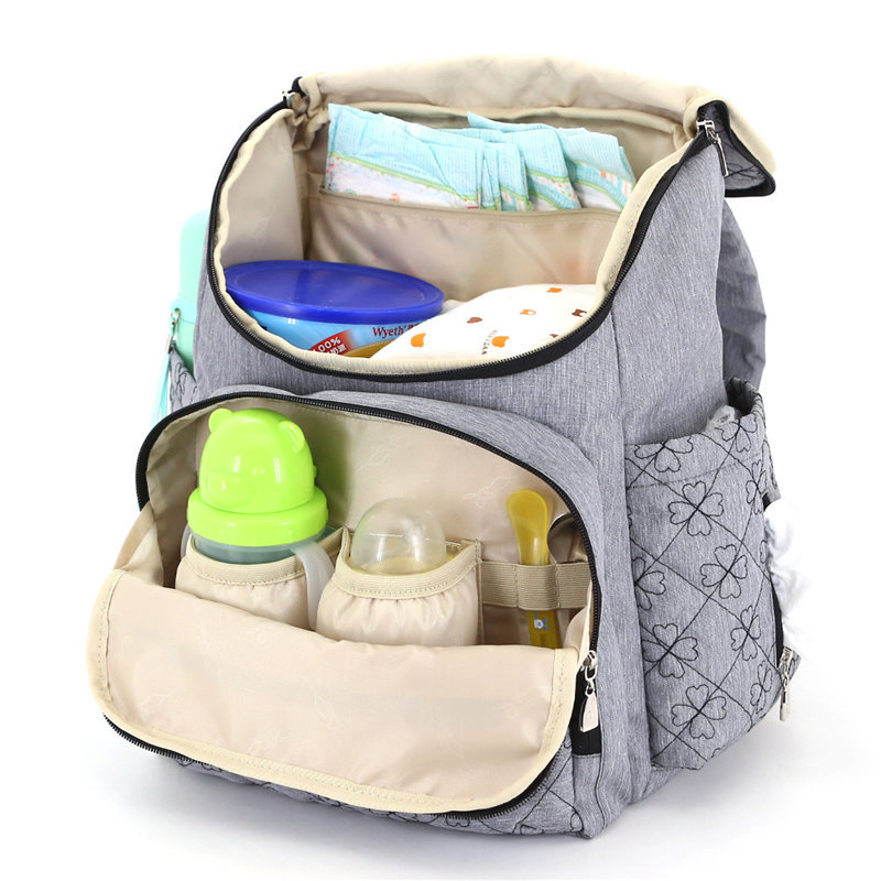 Baby Care Bag Multifunction Fashion Maternity Mummy Nappy Bag Newborn Large Diaper stroller Bag Backpack Mother Handbags B0902