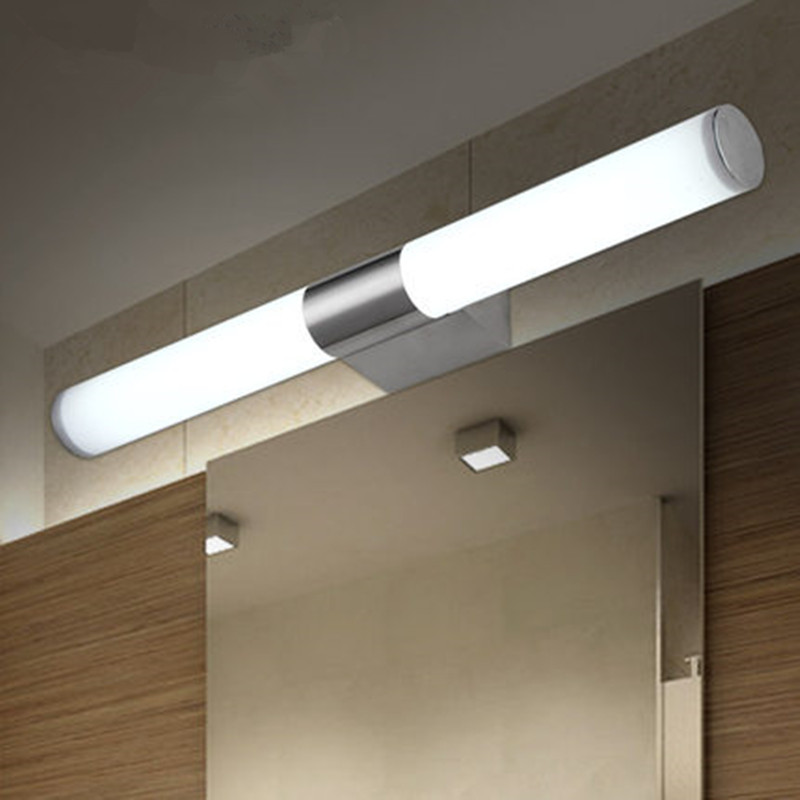 Modern led mirror front light bathroom vanity wall lamps bedroom modern led mirror front light bathroom vanity wall lamps bedroom dresser mirror front light 8w 10w 12w 100 240v whitewarm white in led indoor wall lamps aloadofball Choice Image