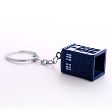 Doctor Who Police Box Keychain