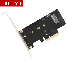 JEYI SK4 M.2 NVMe SSD NGFF TO PCIE X4 adapter M Key interface card Suppor PCI Express 3.0 x4 2230-2280 Size m.2 FULL SPEED good