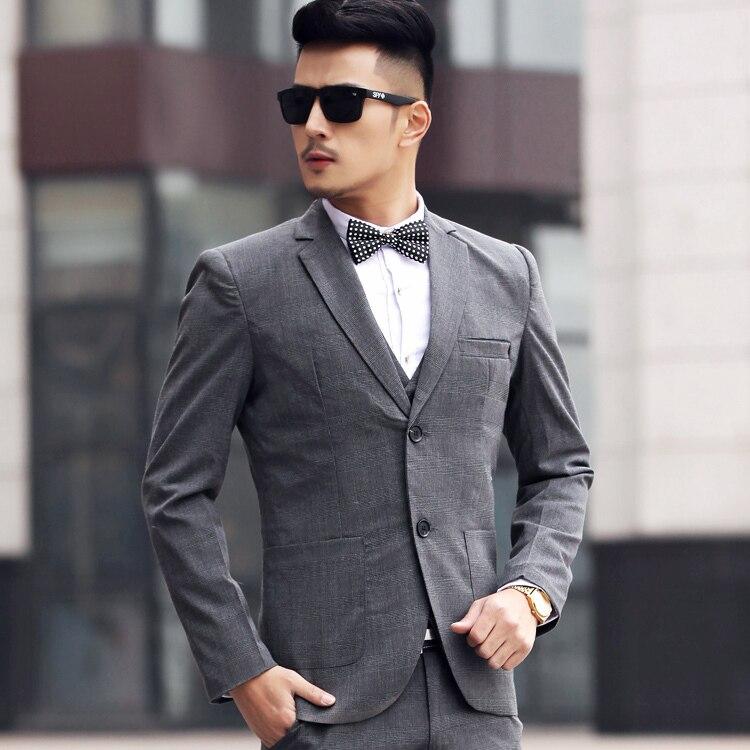 Aliexpress.com : Buy Men wedding suit 2017 Business plaid terno ...