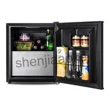 household single door mini refrigerator refrigerated wine milk food Cold Storage Freezing Refrigerator 1pc