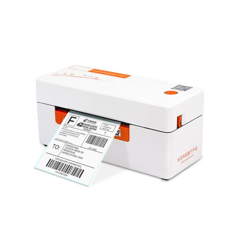 Imprimante thermique express waybill étiquette autocollante code à barres qr code imprimante d'étiquettes de vêtements epacket e-waybill imprimante d'étiquettes