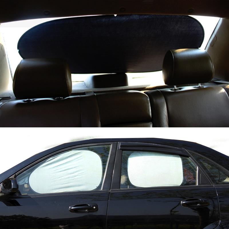 Car Side Window Sunshades Front Rear Side Auto Windshield
