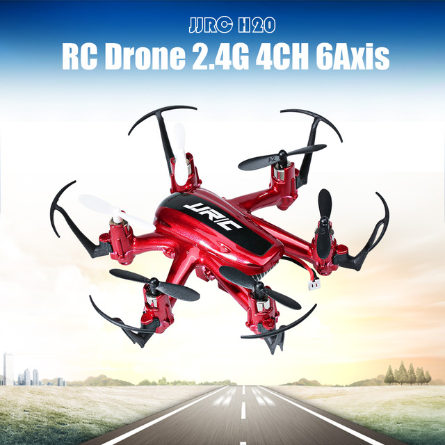 JJRC H20 Hexacopter One-key-return RC Drone 2.4G 4CH 6Axis Quadcopter 3D Rollover Headless Model Remote Control Helicopter dron