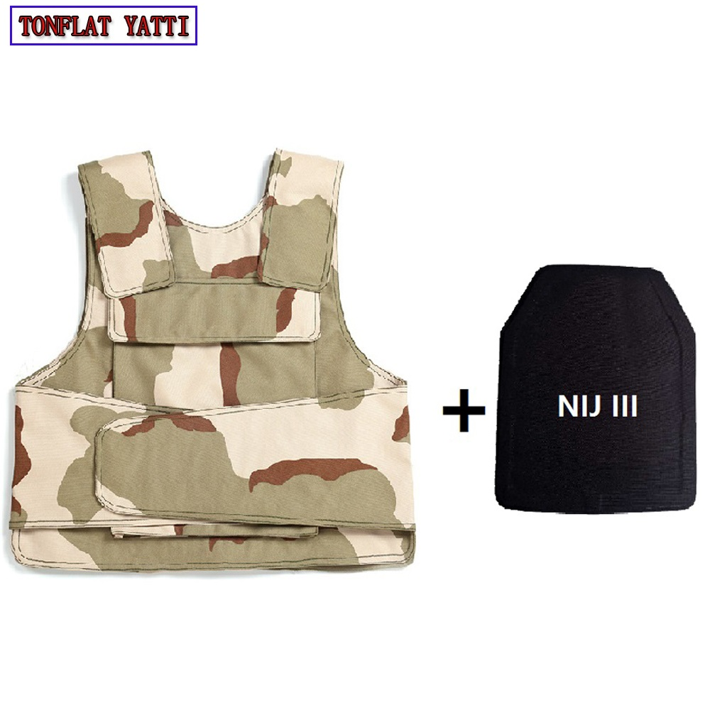 Bulletproof Vest Military Tactical Aramid Bullet Proof Vest AK 47 Carrier  Bulletproof Board Police Swat Protection Vest