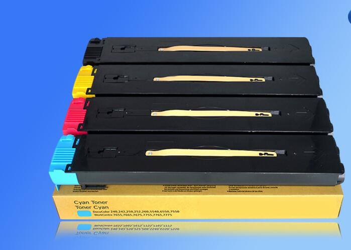 2017 Compatible color toner cartridge DC252 for Xerox DocuColor 240 250 242 252 260 WorkCentre 7655