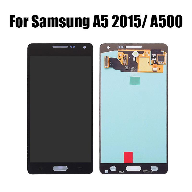 For <font><b>Samsung</b></font> <font><b>Galaxy</b></font> <font><b>A5</b></font> 2015 <font><b>A500</b></font> <font><b>LCD</b></font> Display Touch <font><b>Screen</b></font> Digitizer Assembly Replacement For <font><b>a5</b></font> 2015 <font><b>a500</b></font> a500f a500m <font><b>LCD</b></font> <font><b>Screen</b></font> image