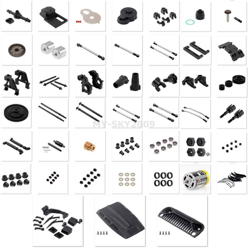 Número de piezas R86006 -- R86082 para 1/10 RC Crawler RGT Rock Cruiser EX86100 piezas de repuesto