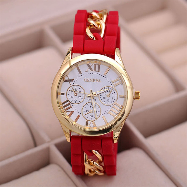 Watch women clock ladies girl watch silicone roman numerals quartz watch women clock ladies girl watch silicone roman numerals quartz best wrist watch gift bracelet comfortable negle Image collections
