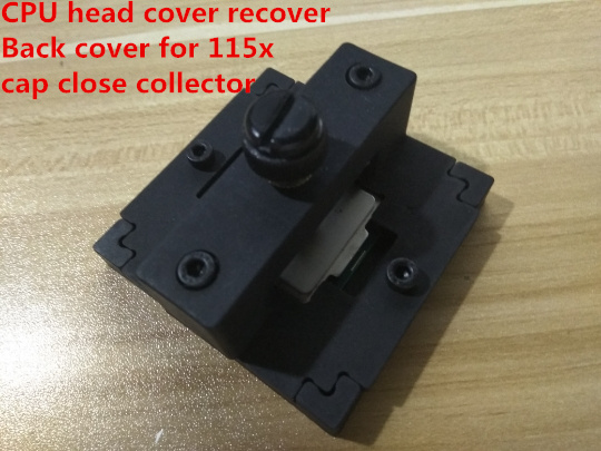 Fast Free Ship CPU lid Close Crimpers CPU head cover recover lid restorer Back cover for 115x cap close collector close the lid