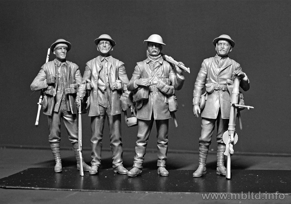 1/35 War British Infantry Battle Of The Somme 1916 MB 35146