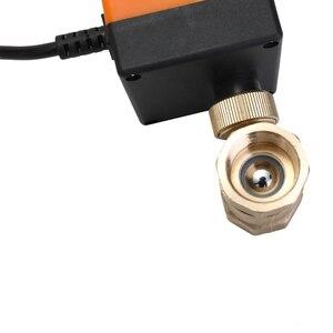 Image 5 - Messing Ventil DN25 AC 220V Wasserdichte 2 Weg 3 Draht Ball Elektrische Motorisierte Messing Ventil mit Stellantrieb