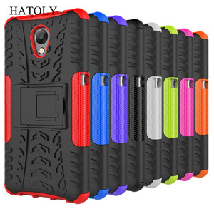 """Image 2 - Hatoly Voor Cover Lenovo P2 Case Lenovo P2 P2c72 5.5 """"Armor Silicone Hard Plastic Case Voor Lenovo Vibe P2 met Houder Stand]"""