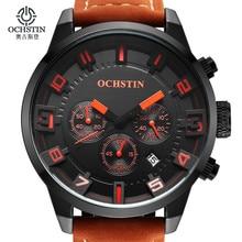Fashion Men's Wrist Watches Male Luxury Brand OCHSTIN Quartz Watch Men Military Chronograph Sport Watch Man Relogio Masculino
