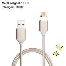 Magnetic Nylon Braided Quick Charge Cable For Huawei Honor 6 7 Enjoy P8 Lite Fast Charging Android USB Date