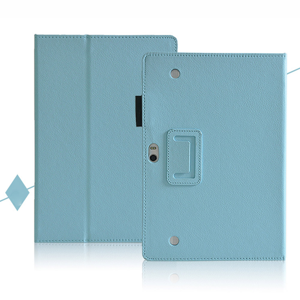 For HUWEI MediaPad 10 Link Litchi Pattern PU Leather Cover Case for HUAWEI MediaPad 10 FHD 10.1inch Tablet Case+Stylus Pen
