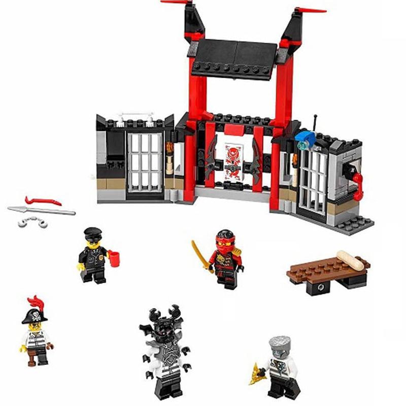 LEPIN 06033 Ninja Phantom Salvage M.E.C. Ronin Model building blocks Minifigures  bricks toys Gift Compatible with   70592