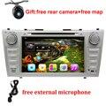 """1024*600 2 Din Quad Core 8 """"Android 5.1.1 Автомобильный DVD Gps-навигация Для Toyota Camry 2007 2008 2009 2010 Головного Устройства Автомобилей Стерео радио"""
