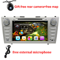 """1024*600 2 Din Quad Core 8"""" Android 5.1.1 Car DVD GPS Navigation For Toyota Camry 2007 2008 2009 2010 Head Unit Car Stereo radio"""