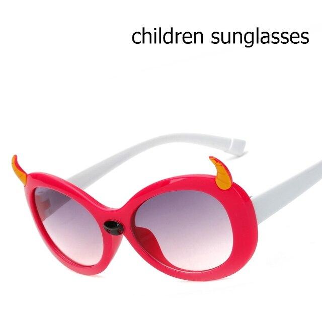 Nova Marca de Moda Crianças Bonito Da Moda óculos de Sol Coloridos Bonito  do Menino Da 5eabaff749