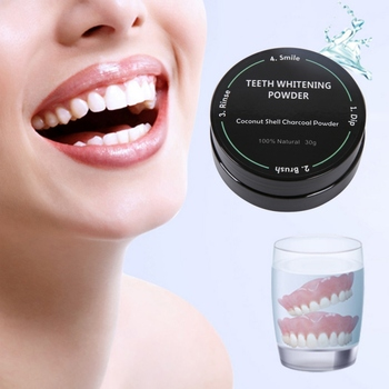 Tooth Teeth Whitening Powder Bamboo Activated Charcoal Powder Smoke Coffee Tea Stain Remove Oral Hygiene Dental Care New Онихомикоз
