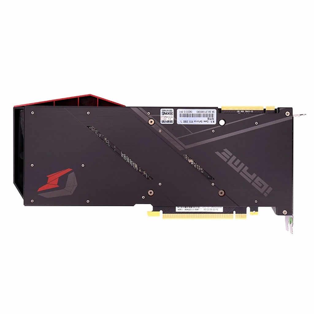 Colorido RTX 2080Ti avanzada OC tarjeta gráfica 2080 ti 11G Turing GPU GDDR6 1635 MHz para juegos de PC GeForce las tarjetas de vídeo 19Feb13