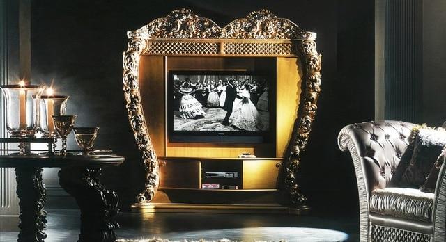 European Style Luxury Living Room Set Imperial Embossment Decorative