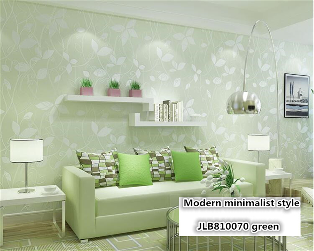 beibehang Modern Simple Horizontal Pastoral Warm Nonwoven papel de parede Wallpaper Living Room Bedroom TV Background Wall paper beibehang papel de parede pastoral environmental nonwovens wall paper warm small floral living room bedroom background wallpaper