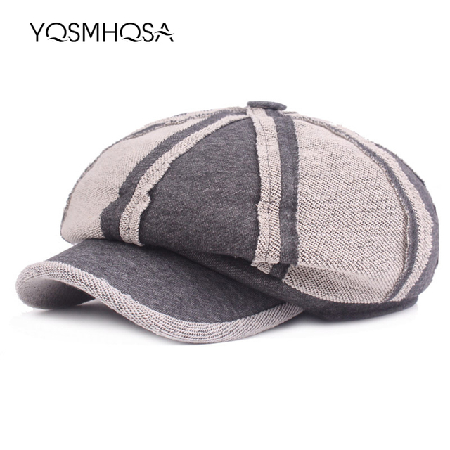 56f2f885eea01 French Hat Women Visor Military Beret Winter Beret Hats Men Painter Retro  Flat Baret Vintage Wool Cap Girl Berets Ladies WH693