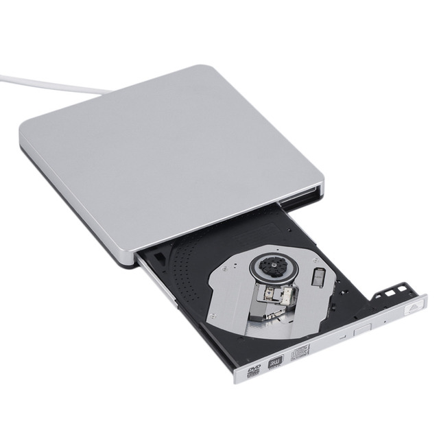 Novo usb 3.0 cd/dvd-rw burner escritor externo disco rígido para apple macbook pro air atacado