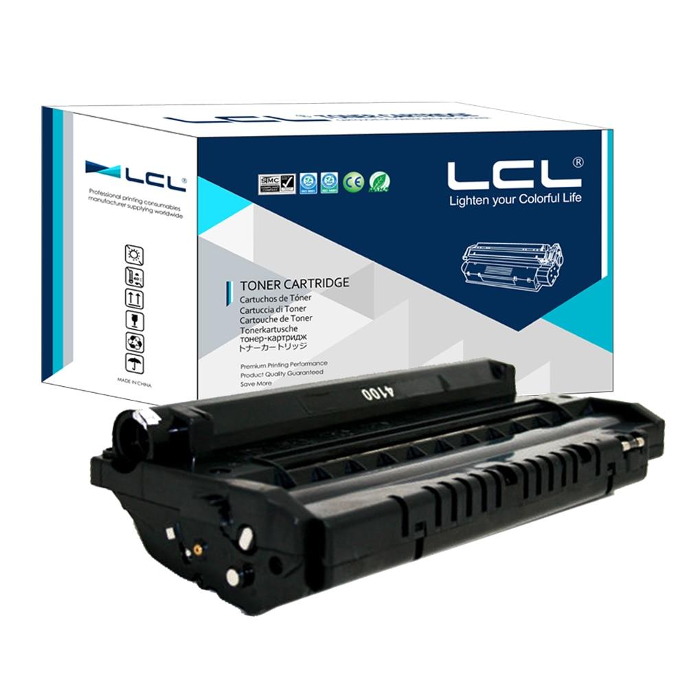 ФОТО LCL SCX-4100D3 SCX 4100D3 SCX4100D3 SCX4100 D3 SCX-4100 (1-Pack Black) Toner Cartridge Compatible for Samsung SCX-4100D3