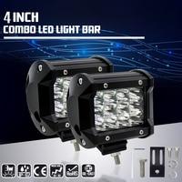 2PCS FREE SHIPPING 4inch 36w led light bar spot offroad led work light 12 volt led driving light for trucks