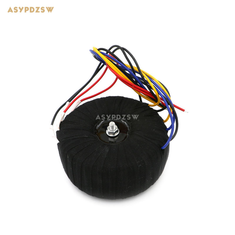500VA Black cloth toroidal transformer 500W High power transformer for NAP200 amplifier dedicated 2x28-0-28 iwistao 300w toroidal transformer hifi power amplifier dedicated pure copper wire dual 33v