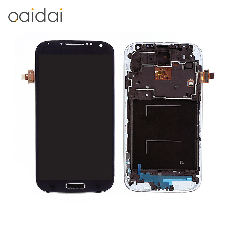 Lcd Display Touch Screen Digitizer Assembly Replacement Parts For Samsung GALAXY S4 GT-I9505 I9500 I337 With Tools Free Shipping replacment lcd for samsung for galaxy s4 i9505 lcd display touch screen digitizer frame assembly one piece free shipping