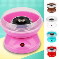 Portable Mini 220V Electric Sugar Cotton Candy Machine Party DIY Sweets Maker