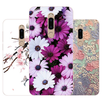 meizu m6t Case,Silicon Precious flower Painting Soft TPU Back Cover for meizu m6t protect Phone cases