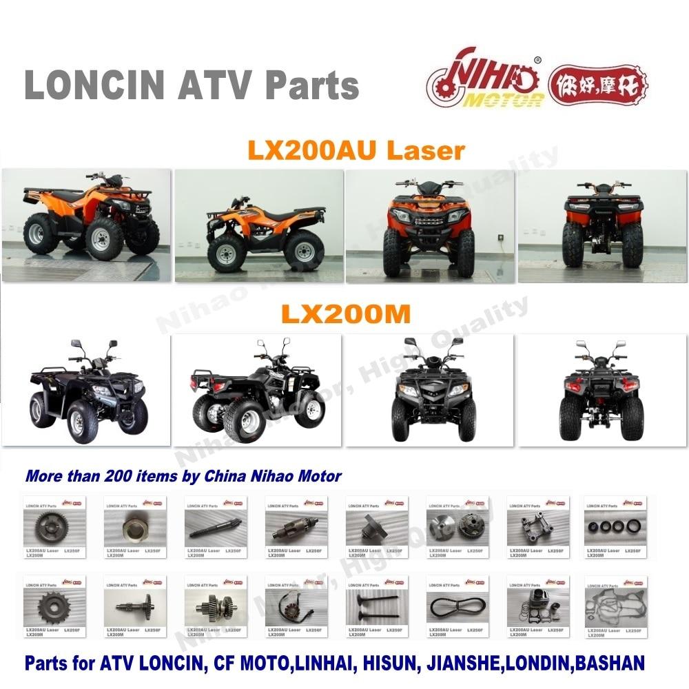 US $8 11 8% OFF 83 LONCIN ATV PARTS Throttle Cable LX200AU LX200M Quad  Spare engine 250cc 200cc parts Nihao Motor LX250F RATO JIANSHE BASHAN -in  ATV