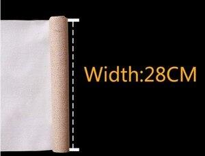 Льняная смесь 5 м, грунтованный чистый холщовый слой, высокое качество, масляная живопись, акриловая живопись, один рулон, ширина 28/48 см