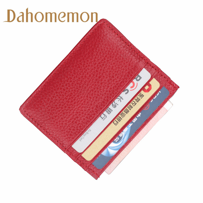 Cowhide Leather Unisex 6 Card bit Convenient ID Pocket Business Card Holder Bank Credit Storage supplies Card Case cardholderCowhide Leather Unisex 6 Card bit Convenient ID Pocket Business Card Holder Bank Credit Storage supplies Card Case cardholder