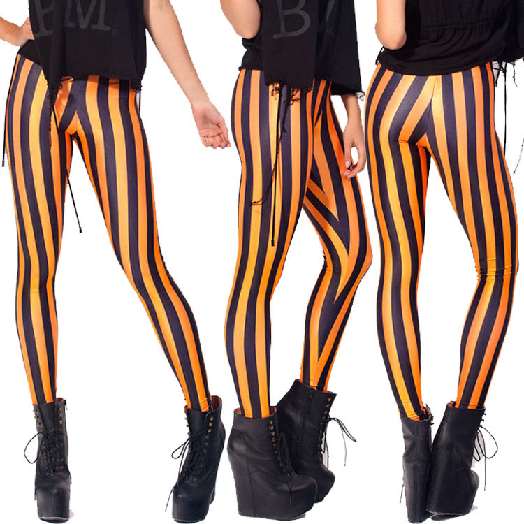 c64ed5a357a3d clothing craft Picture - More Detailed Picture about Beetlejuice ... …  Beetlejuice ankle length trousers female red white striped leggings ...