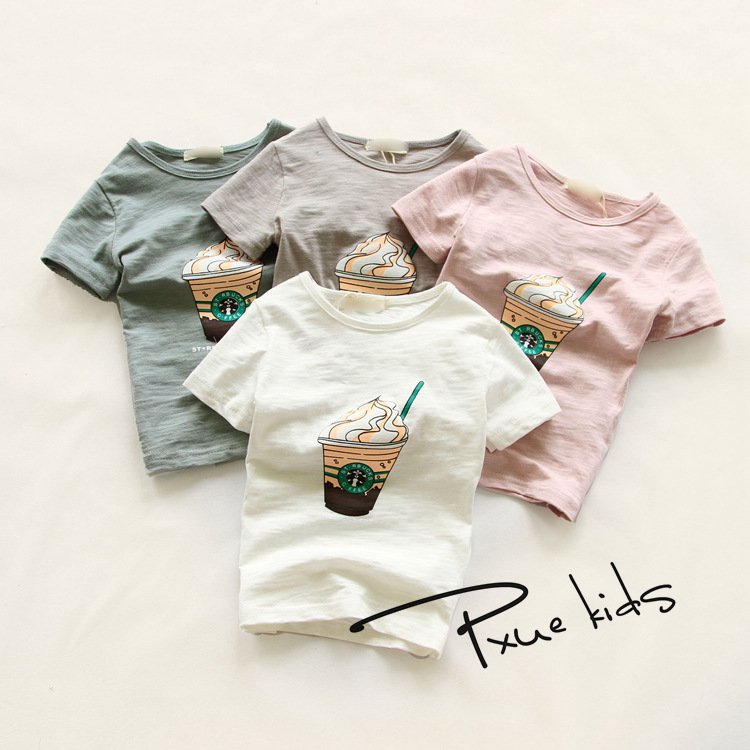 Thin Gold Line 911 Wings Kids Cotton T-Shirt Basic Soft Short Sleeve Tee Tops for Baby Boys Girls