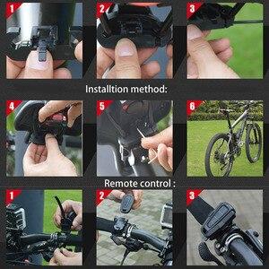 Image 4 - 4 In 1 Anti theft Bike Security Alarm Wireless Remote Control Alerter Taillights Lock Warner Waterproof Bicycle lamp Accessories