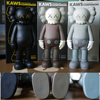 OriginalFake KAWS Companion 5YL Years Later Companion 16 inch in Sealed Printed opp bag