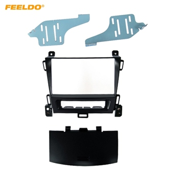 FEELDO Car 2DIN Stereo CD DVD Radio Fascia For OPEL Zafira Sports Tourer 2011 Panel Frame Dash Mount Installation Kit